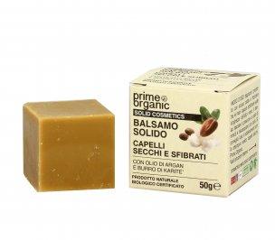 Balsamo Solido per Capelli Secchi e Sfibrati - Argan e Karitè