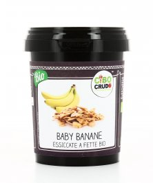 Baby Banane Essiccate a Fette