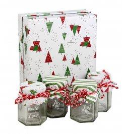 Set Barattoli di Natale per il Fai-Da-Te
