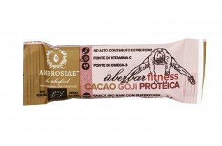 Barretta Proteica con Cacao e Goji