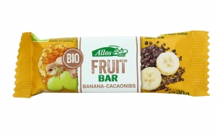 Barretta alla Banana e Fave di Cacao - Fruit Bar