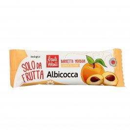 """Barretta Morbida all'Albicocca Bio Senza Glutine """"Solo da Frutta"""""""