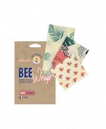 Pellicola Naturale per Alimenti Bee Wrap - Tropical
