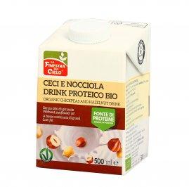 Bevanda Vegetali di Ceci e Nocciola Bio - Drink Proteico