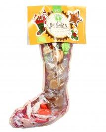Calza di Natale Bio con Tartufi di Cioccolato e Caramelle