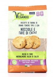 Biscotti alle Nocciole e Fave di Cacao - Vegan e Bio