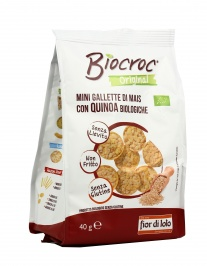 Mini Gallette di Mais con Quinoa Bio - Biocroc