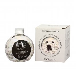 "Shampoo Doccia Talco e Avena ""Mister Polar Bear"" - Sphere For Planet"