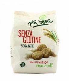 Biscotti Bio Riso e Teef Senza Glutine