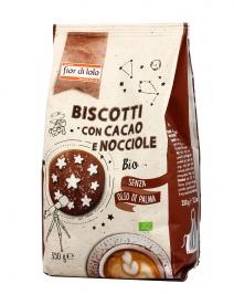 Biscotti con Cacao e Nocciole Bio