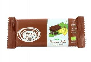 Brawnie Banana e Cacao - Banana Split Simply Raw