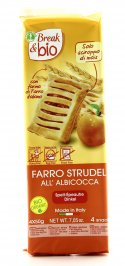 Break & Bio - Farro Strudel all'Albicocca