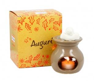 Brucia Essenze Ceramica con Angioletto