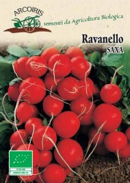 Semi di Ravanello Saxa