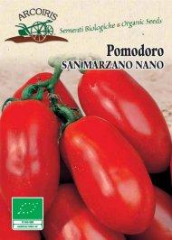 Semi di Pomodoro San Marzano Nano - 0.3 Gr