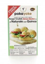 Burger Crudista con Quinoa al Naturale Senza Glutine