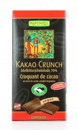 Cioccolato Fondente con Croccante al Cacao