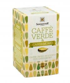 CAFFè VERDE E CARDAMOMO - INFUSO BIOLOGICO Con caffè crudo da colture biologiche. Ricco di antiossidanti di Sonnentor