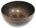 Campana Tibetana - Singing Bowl (ciotola intarsiata grande)
