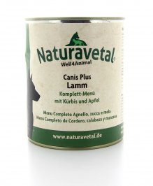 Canis Plus Menu - Completo Agnello con Zucca e Mela