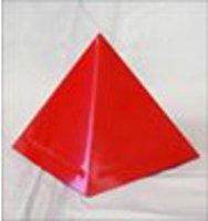 Cappello Sovrapiramidale Rosso