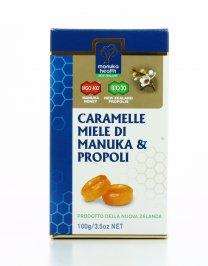 Caramelle al Miele di Manuka MGO™400 + e Propoli BIO30™