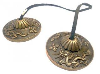 Cembali Tibetani - Modello Dragone