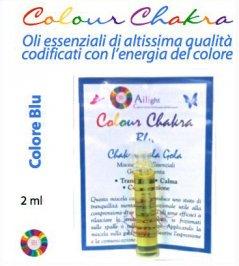 Colour Chakra Oil Blu - Tranquillità, calma, comunicazione