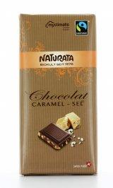 Cioccolato Fondente Bio con Caramello e Sale Marino