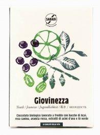 Giovinezza - Cioccolato Biologico - 50 gr.
