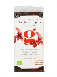 Cioccolato Fondente con Bacche di Goji Bio