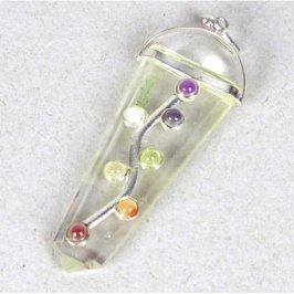 Ciondolo Arcobaleno 7 Chakra - Albero dei 7 Chakra