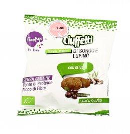 Ciuffetti di Sorgo e Lupino con Olive - Senza Glutine