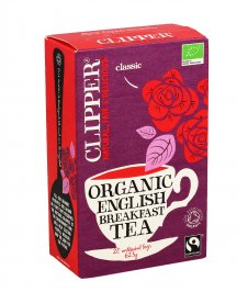 Clipper - Te' Nero Bio - English Breakfast