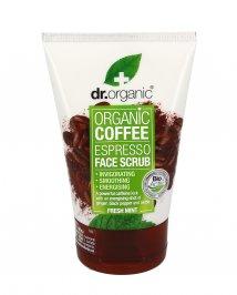 SCRUB VISO AL CAFFè - ORGANIC COFFEE ESPRESSO Ad azione energizzante ed illuminate. Con zenzero e menta. di Dr. Organic