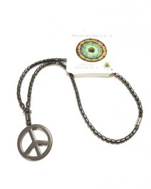 Collana Ematite - Love & Peace