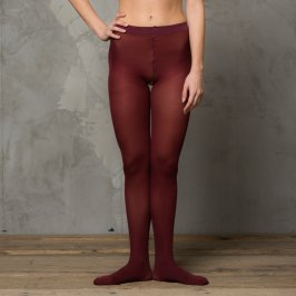 Collant 50 Denari - Colore Bordeaux