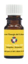 Colour Chakra Oil Giallo - Chiarezza, autostima, pensiero positivo