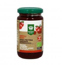 Composta di Mirtillo Rosso con Pezzi di Frutta