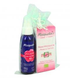 Confezione Olio Rosa Mosqueta e Damascena + Acqua Profumata