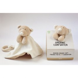Copertina Bio Comforter con Anello - Teddy