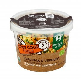 Cous Cous Istantaneo con Curcuma e Verdura