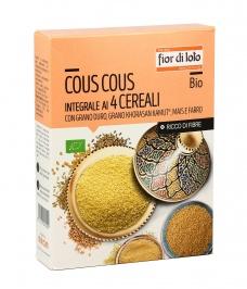 Cous Cous Integrale ai 4 Cereali