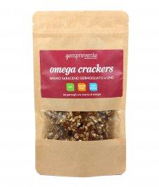Cracker con Germogli di Grano Saraceno e Lino - Omega Crackers
