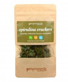 Spirulina Cracker con Germogli di Grano Saraceno