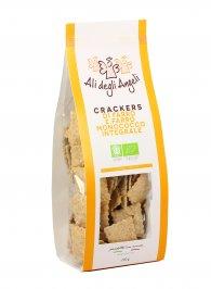 Crackers di Farro e Farro Monococco Integrale Bio