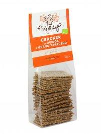 Crackers di Quinoa e Grano Saraceno Bio