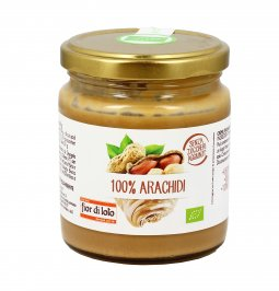 Crema 100% Arachidi Bio