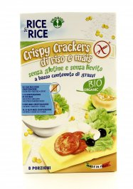 Crispy Crackers Riso e Mais