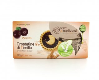 Crostatine di Timilia al Mirtillo